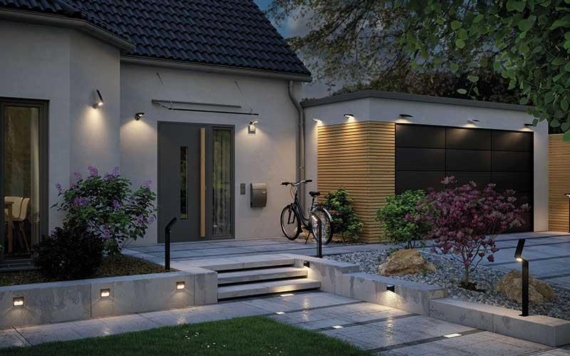 Außenbeleuchtung: Dekorativ und sicher